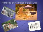 pictures of archaeological dig