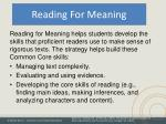 reading for meaning2
