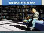 reading for meaning7