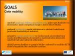 goals ciele mobility