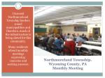 northmoreland township wyoming county pa monthly meeting