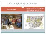 wyoming county landowners