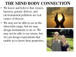 the mind body connecti on