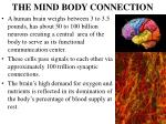 the mind body connection1