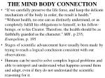 the mind body connection12