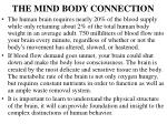 the mind body connection2