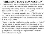 the mind body connection25