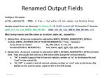 renamed output fields