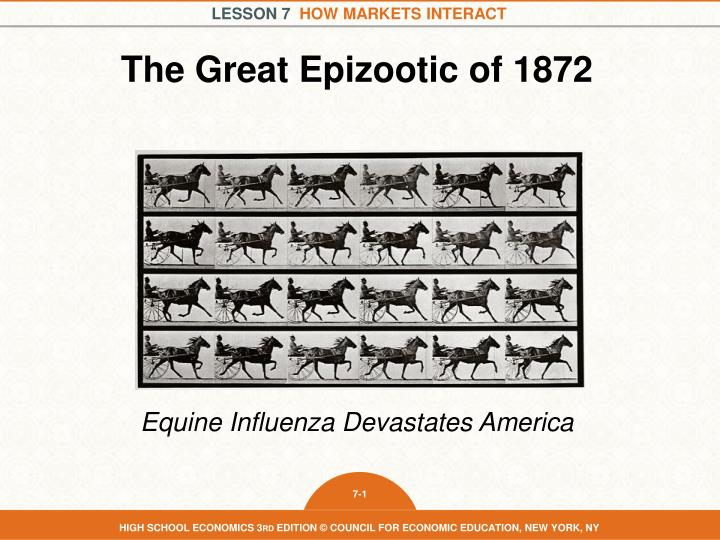 the great epizootic of 1872 n.