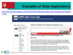 examples of state applications1