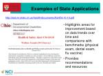 examples of state applications2