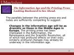 the information age and the printing press looking backward to see ahead3