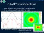 grasp simulation result