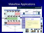 makeflow applications