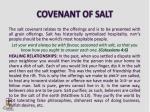 covenant of salt
