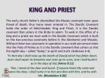 king and priest
