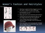 women s fashion and hairstyles