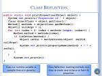 class reflection