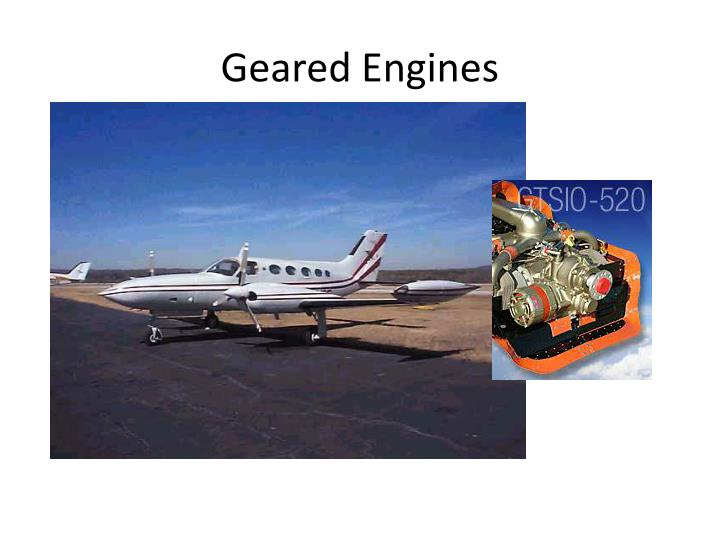 Geared Engines