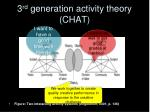 3 rd generation activity theory chat