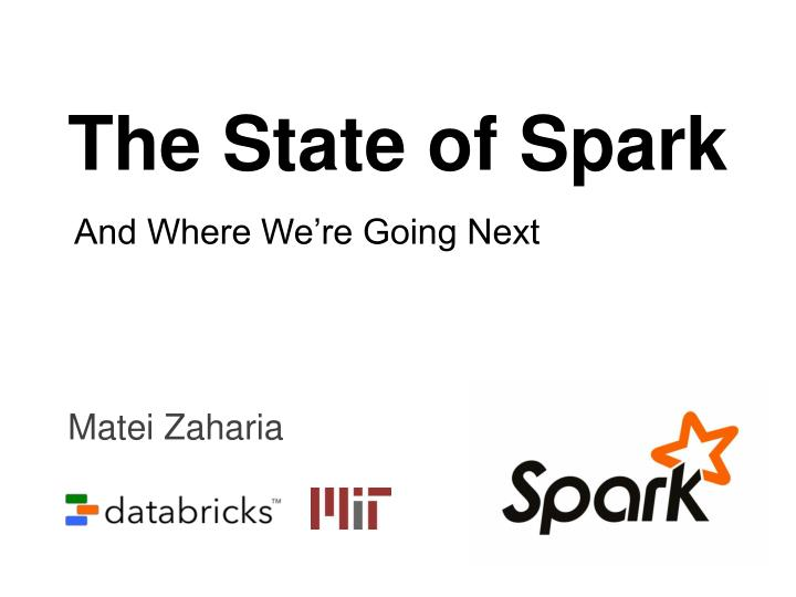the state of spark n.