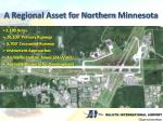 a regional asset for northern minnesota
