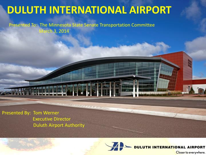 duluth international airport n.