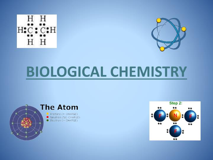 biological chemistry n.