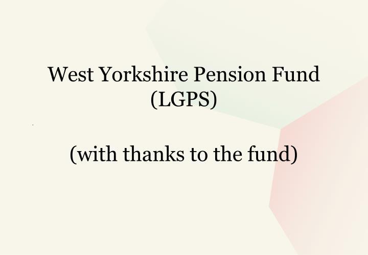 Ppt agenda powerpoint presentation id2229483 west yorkshire pension fund lgps spiritdancerdesigns Images