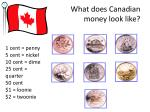 what does canadian money look like