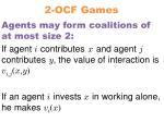 2 ocf games