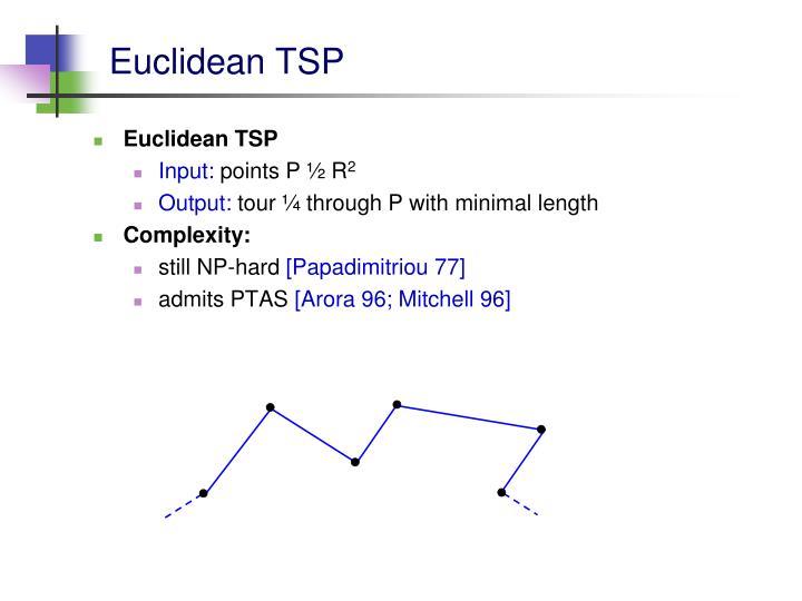 Euclidean TSP