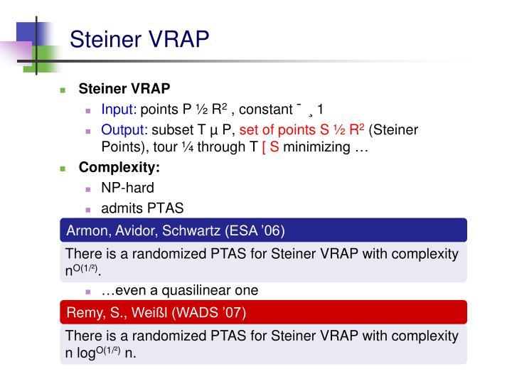 Steiner VRAP
