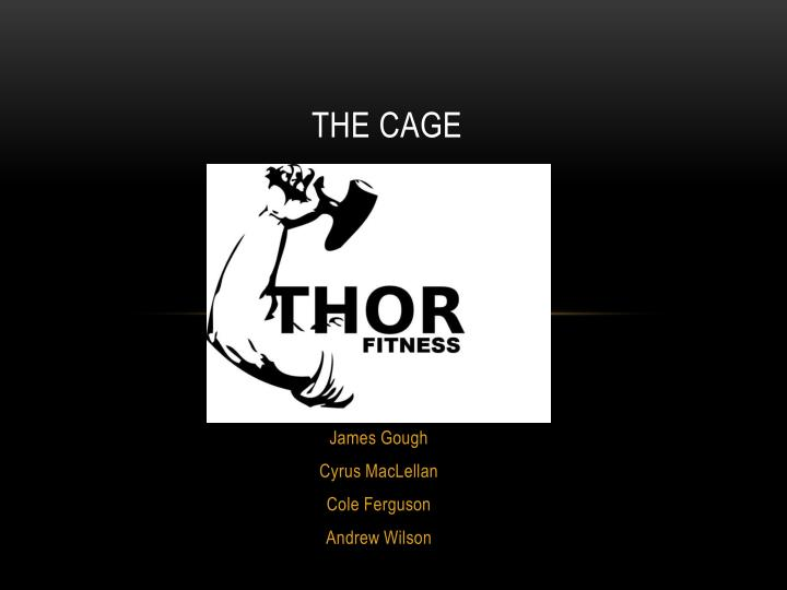 the cage n.