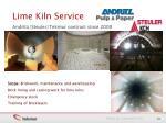 lime kiln service