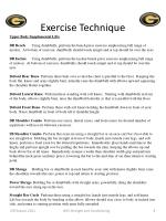 exercise technique6