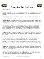 exercise technique9