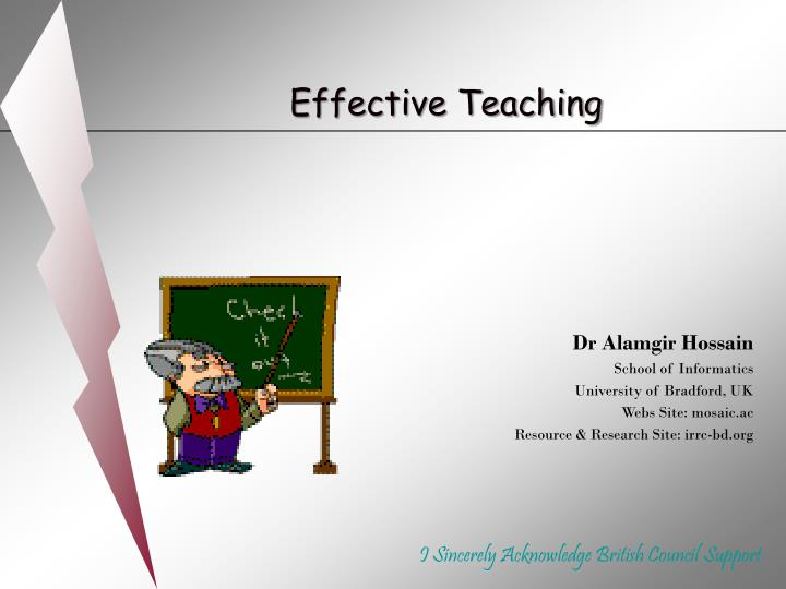 effective teaching n.