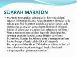 sejarah maraton