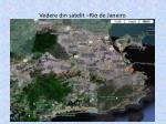 vedere din satelit rio de janeiro