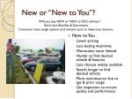 new or new to you1
