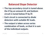 balanced slope detector1