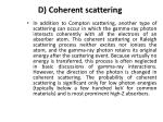 d coherent scattering