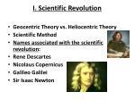 i scientific revolution