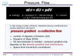 pressure flow