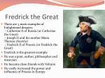 fredrick the great