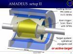 amadeus setup ii