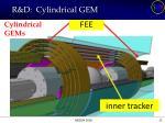 r d cylindrical gem