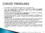 curved trendlines