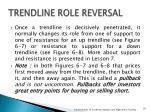 trendline role reversal